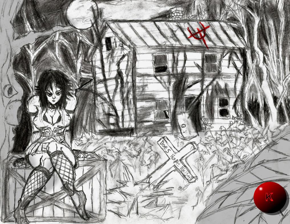 Evil Terror by Kloudthegamekiller