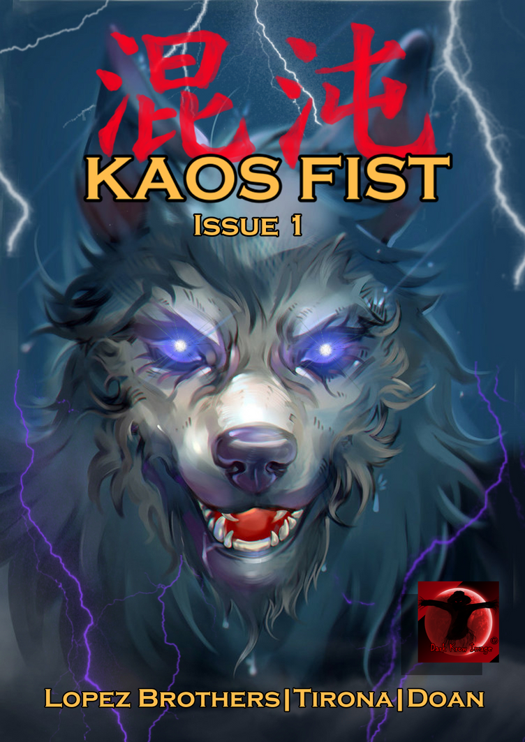 Kaos Fist Issue 1 Sample: Cover by Kloudthegamekiller