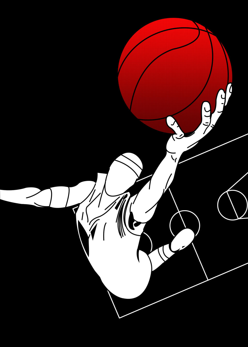 Displaying 15> Images For - Basketball Art...