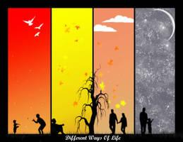 Different Ways Of Life by DarkAngeLP26