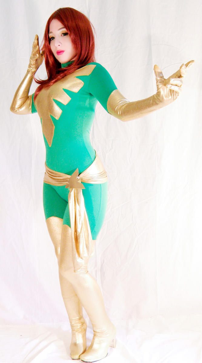Phoenix costume by Kitty-Honey