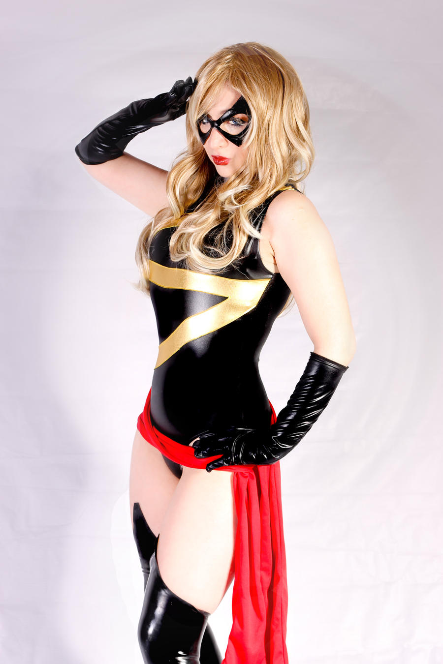 To serve and protect (Ms. Marvel cosplay) by Kitty-Honey