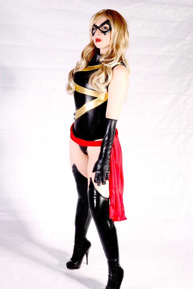 Avenger Ms. Marvel cosplay by Kitty-Honey