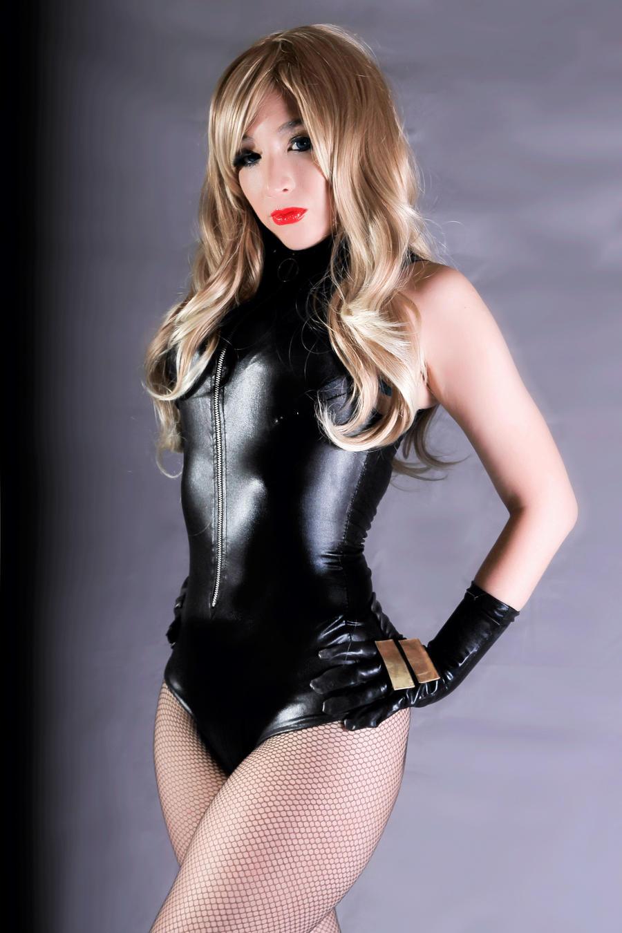 Black Canary cosplay 01 by Kitty-Honey