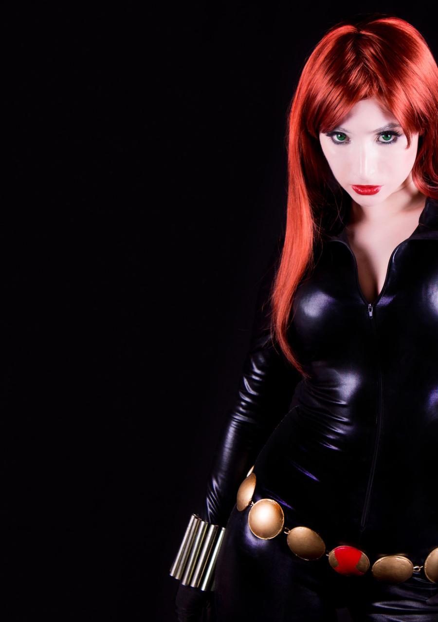 Black Widow cosplay 02 by Kitty-Honey