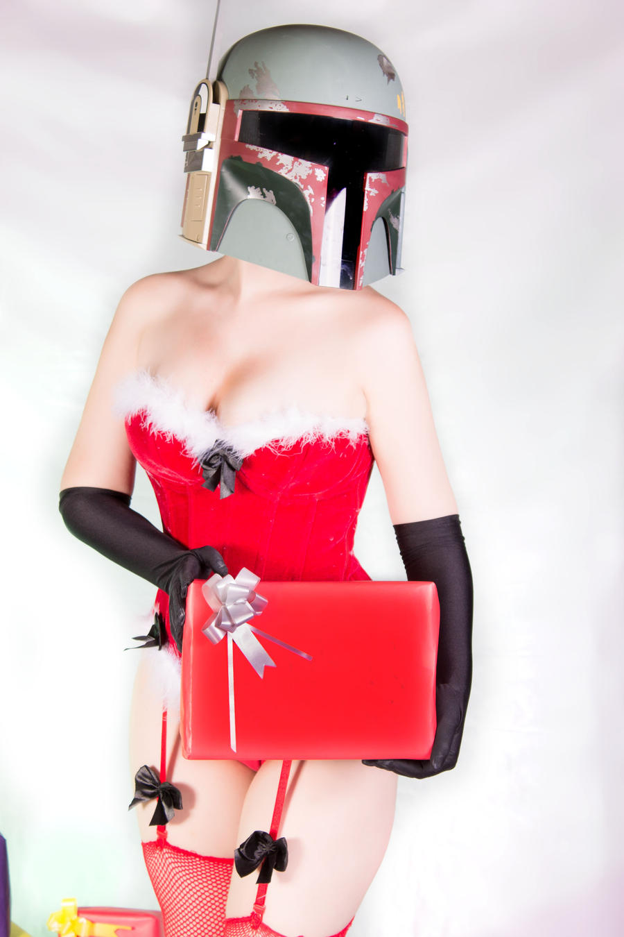 Santa Fett 09 (Boba Fett Christmas Edition 2012) by Kitty-Honey