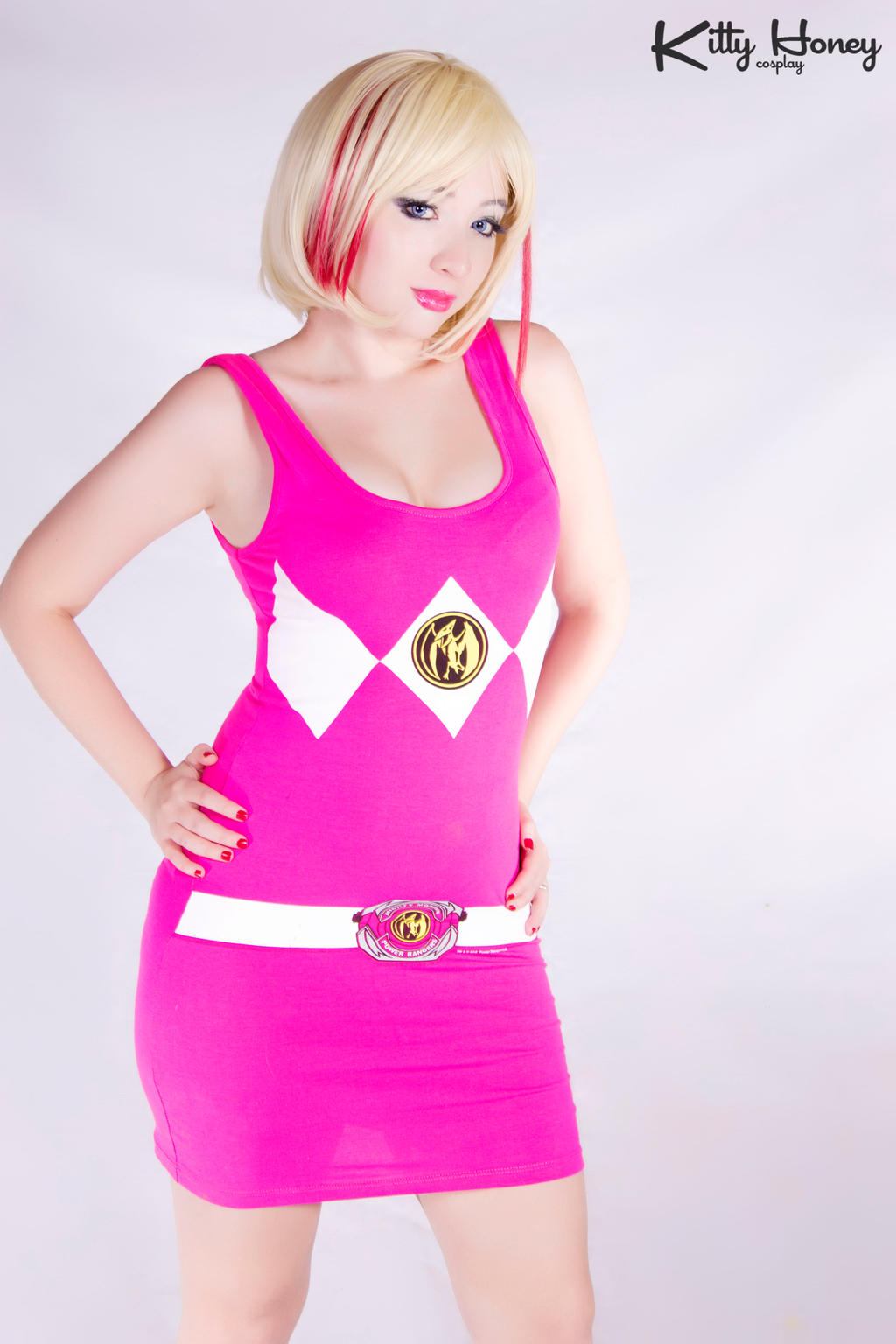 Pink Ranger Style 03 by Kitty-Honey