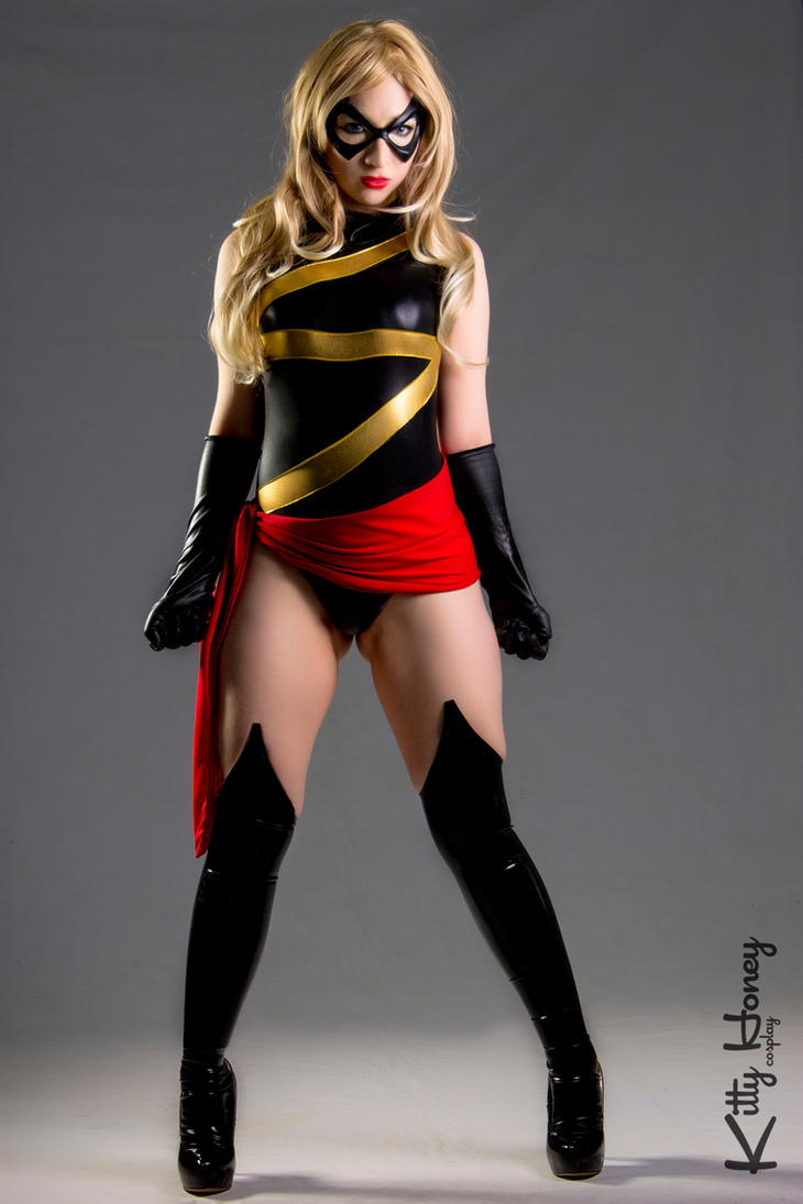 Ms. Marvel - Carol Danvers cosplay by Kitty-Honey