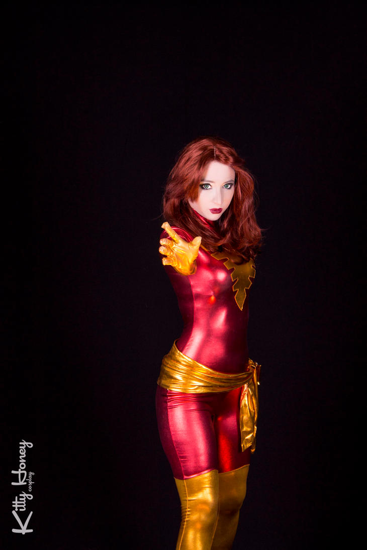 Dark Phoenix cosplay 01 by Kitty-Honey
