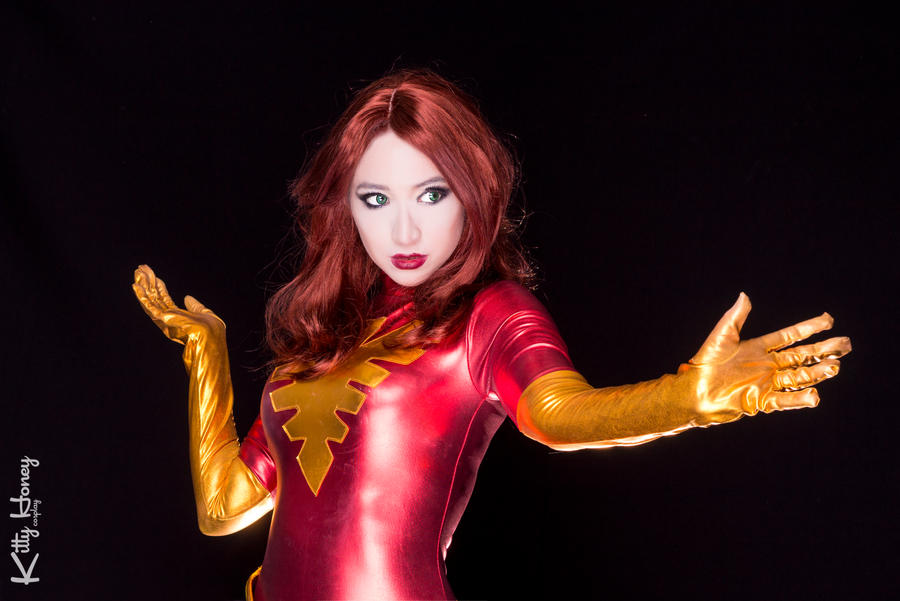 Dark Phoenix cosplay 03 by Kitty-Honey