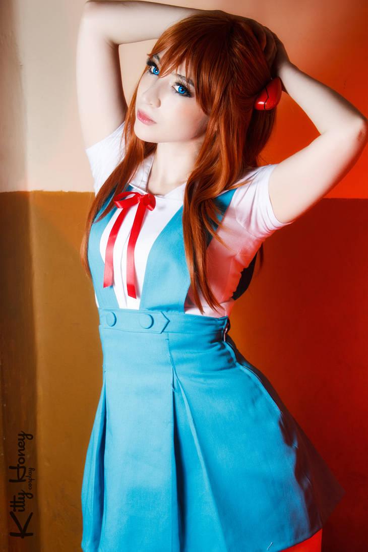 Asuka Soryuu Langley - School Uniform cosplay