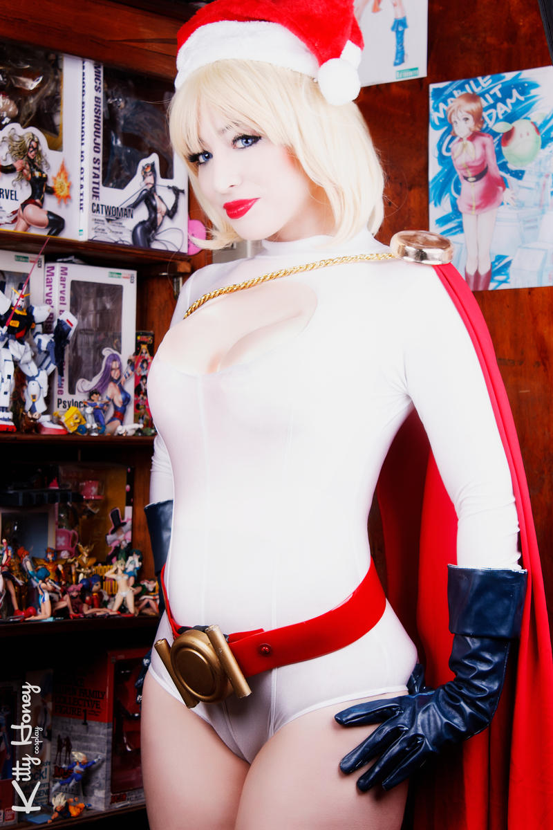 Merry Christmas! 2015 - Power Girl by Kitty-Honey
