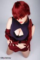 Sexy Orochi Shermie by Kitty-Honey