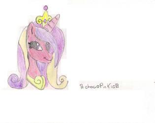 princesa Candence by chocopinkie