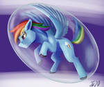 Daily Doodle 114 ~ a bubble of speed