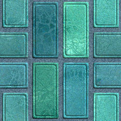 Teal Bricks by Jade-Dragen