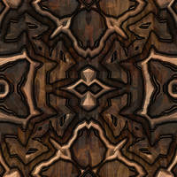 Seamless Carved Wood 2