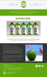 Buko Water (spec work - single page version) by taruto