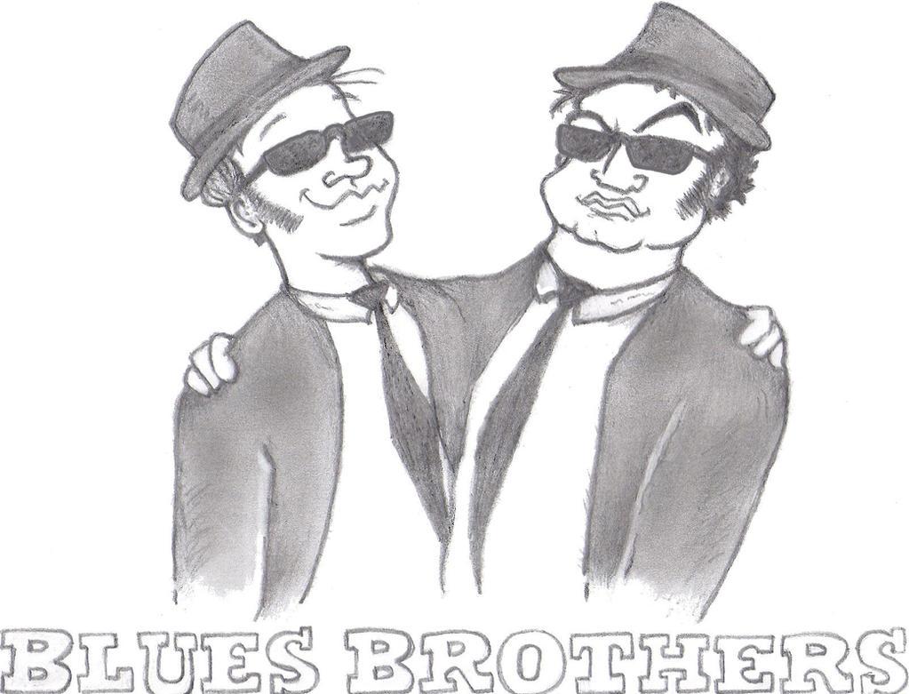 Blues Bros Sketch by TallToonist on DeviantArt