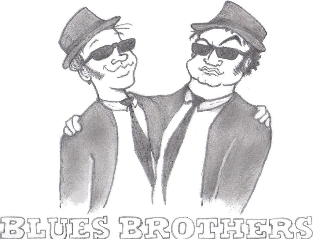 Blues Bros Sketch by TallToonist