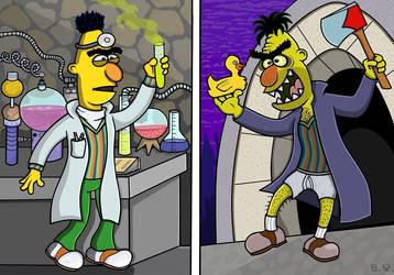 THE STRANGE CASE OF DR. BERT AND MR. BERT by TallToonist