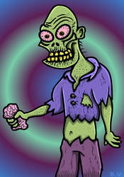 ZOMBIE by TallToonist