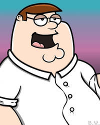 PETER GRIFFIN by TallToonist