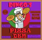 DINGO'S PIZZA DEN by TallToonist