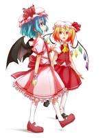 scarlet sisters by ieka95