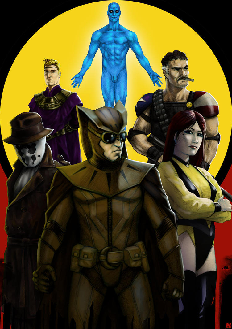 Watchmen by GaboMelo
