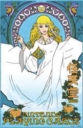 Zelda: Skyward Sword Art Nouveau Poster by erichschuler
