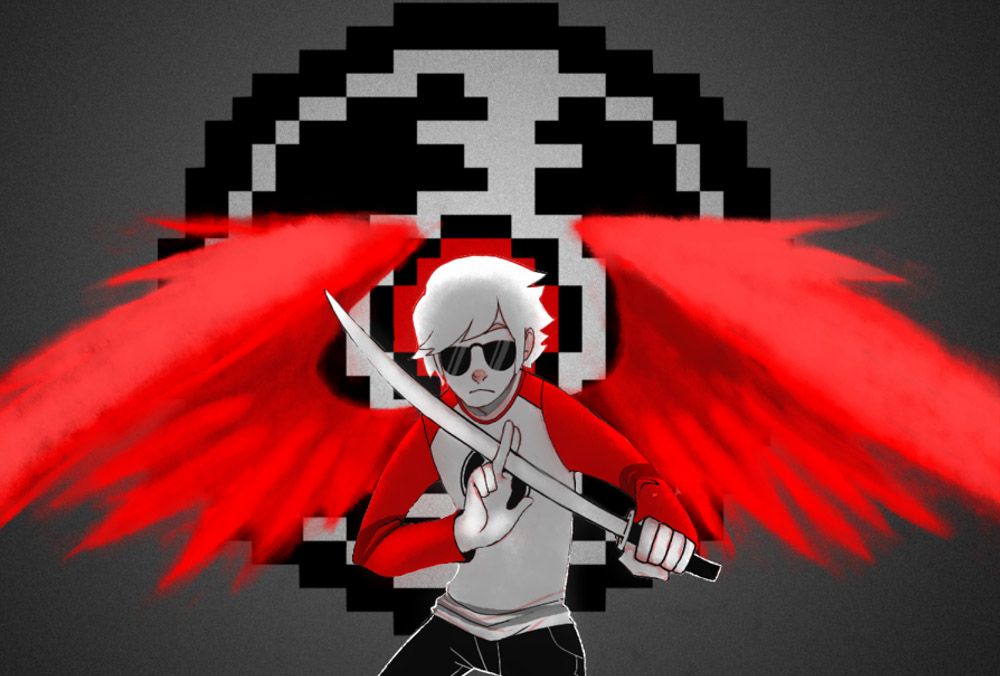 HS - Dave Strider Wallpaper by lady-shroom