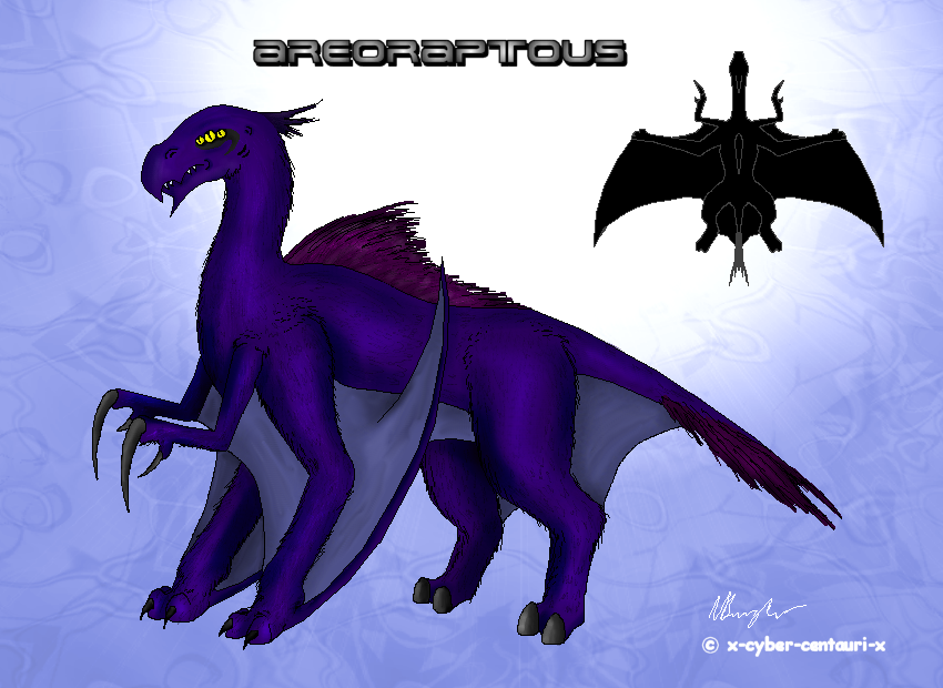 Aireoraptous by x-cyber-centauri-x