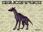 Saucerface by Cyber-Centauri