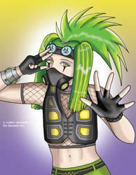 Manga Practice 11: Cyber Punk by Cyber-Centauri