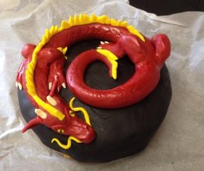 Dragon Cake by Cyber-Centauri