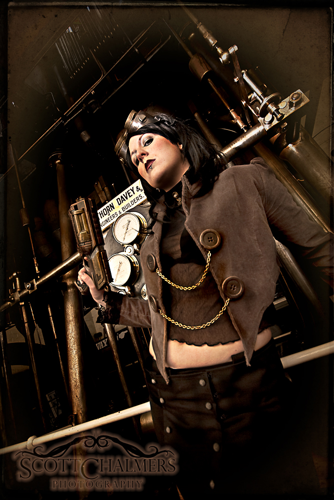 Steampunk Warrior II by nitr0gene on DeviantArt