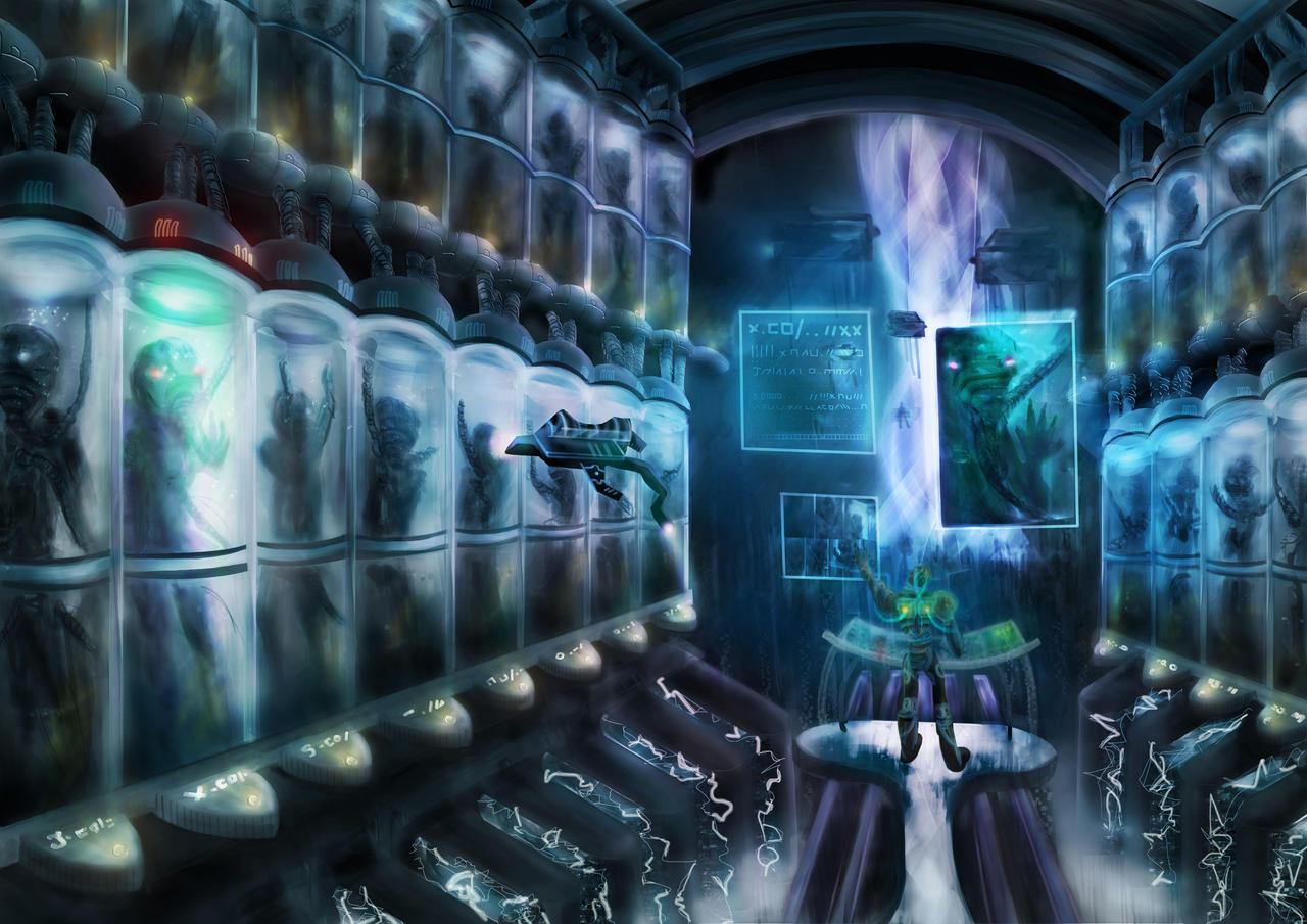 The Futuristic Clone by Celinio