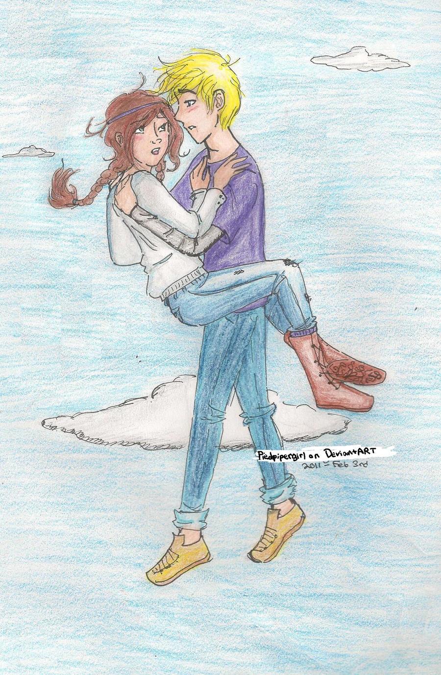 Lost Hero- Flying by piedpipergirl