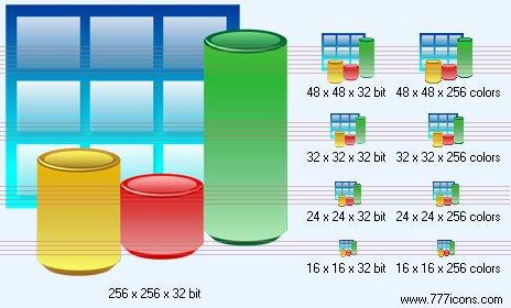 3d bar chart Icon