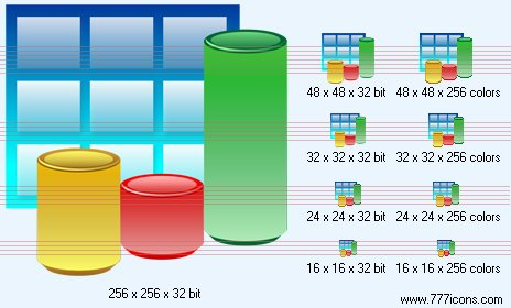 3d bar chart Icon by jpeger