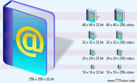 Address book SH6 Icon
