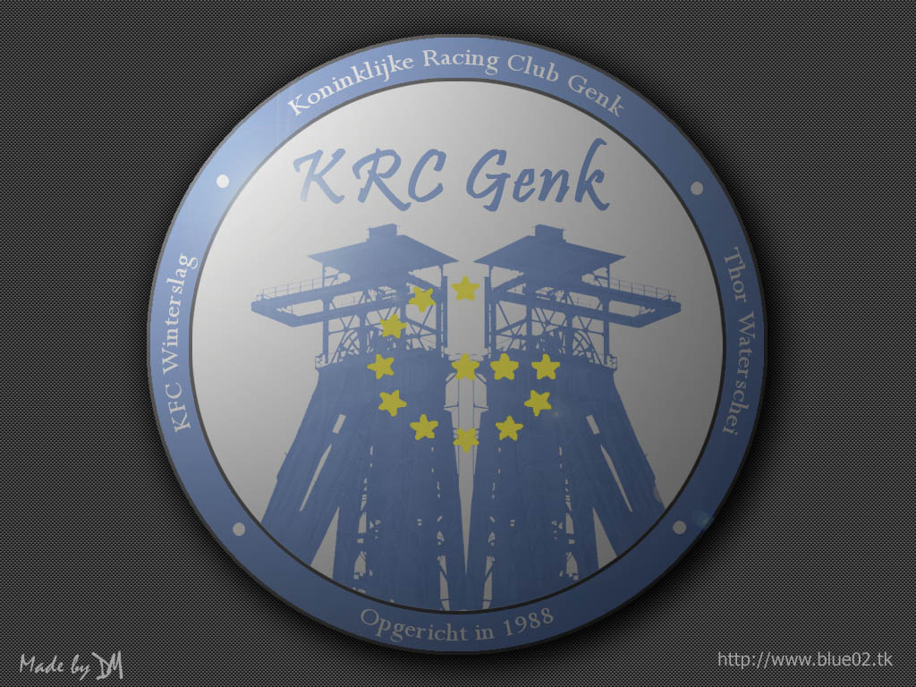 New Logo Krc Genk By Dm On Deviantart