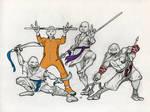 Adolescent Evolved Shaolin Terrapin