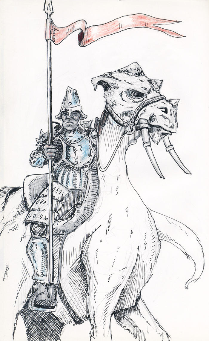 Mounted Soldier by shockwerks