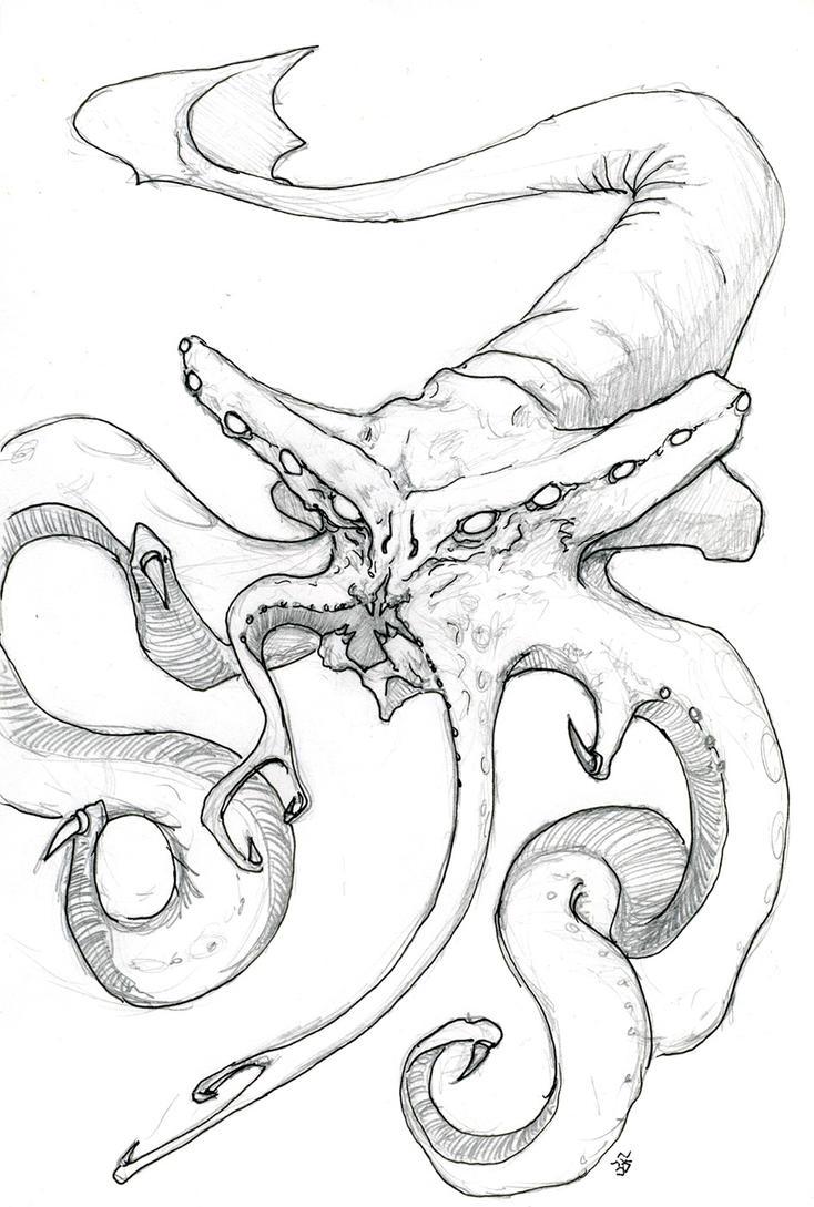 Sea Monster by shockwerks