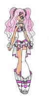 Sailor PinkSapphire Capra by Sakura-Chirari