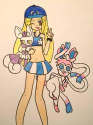 Pokemon trainer exchange: Cara by Sakura-Chirari