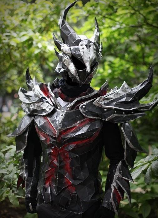 Daedric Armor Skyrim by PriamWolf
