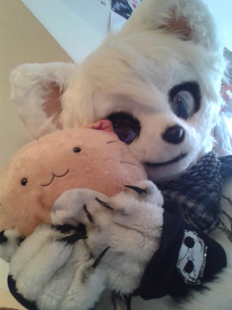 Hug Poyo ! by PriamWolf